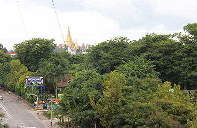view from yangon apartment