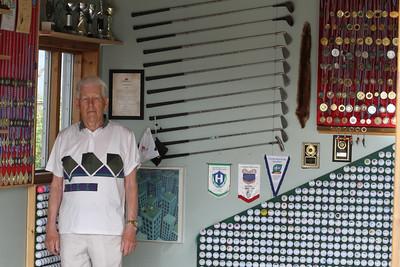 Karl Guðlaugsson, Golfklúbburinn Flúðir, Selsvöllur. Mynd/seth@golf.is