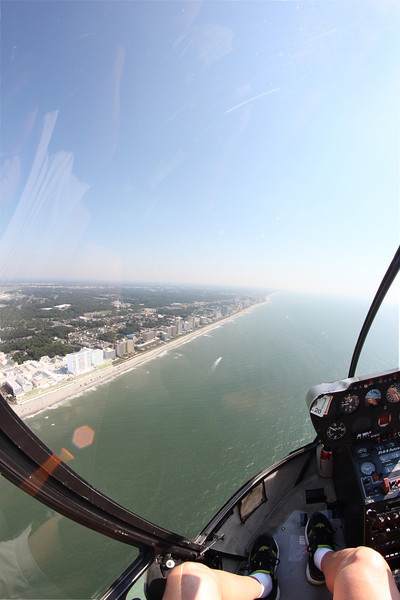 Myrtle Beach from the air.