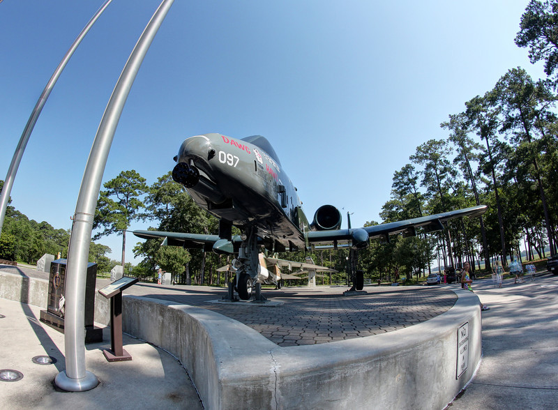 A-10 at Myrtle Beach airport.