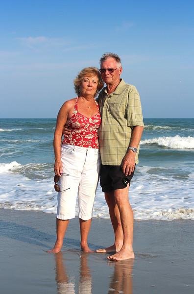 Beachcombers in Margaritaville.