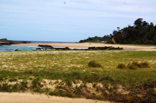 Mystery Bay from our parkup spot