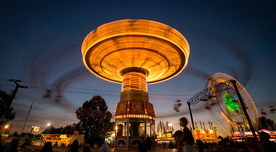 N. Georgia Fair at Night