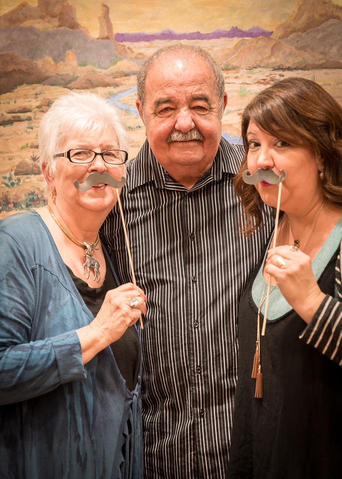 Sandy and John Dudek and daughter Dani