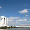 View of the VAB from the Press Site