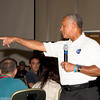 NASA Administrator Charles Bolden. Pointing to the future of the manned space flight?