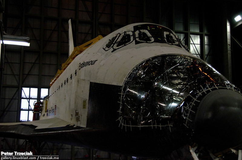 Endeavour - prepared for museum