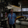 In front of Endeavour