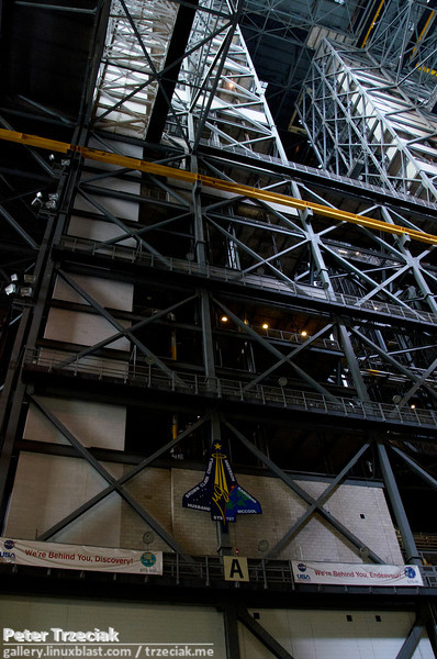 VAB: where the space shuttles were stacked up