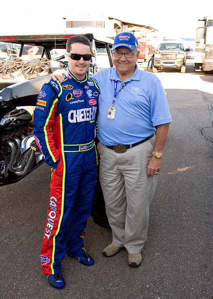 Casey Mears and his Grandfather Bill Mears
