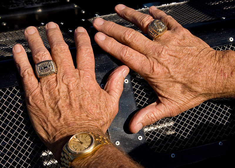 Hands that built legends - Bill Mears (Father of Rick/Rodger and Grandfather of Casey)