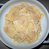Tortellii di Parma ( a type of Parma raviolis, these with squash inside, yum!)