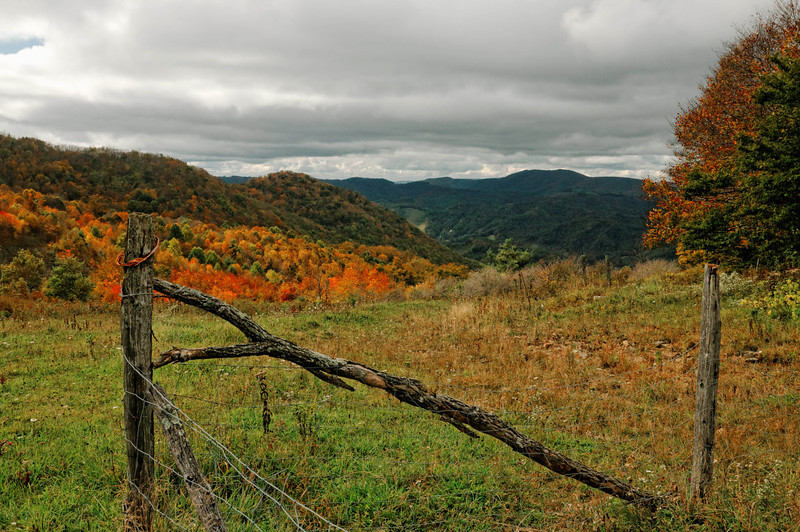 View from Rich Mountain Gap Road