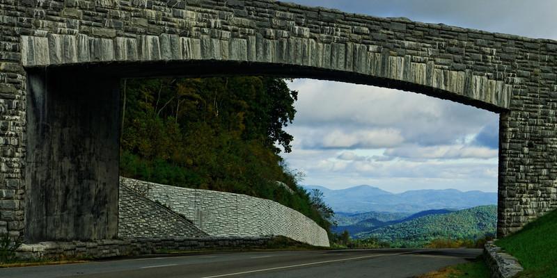 Blue Ridge Parkway Bridge over Hwy. 421