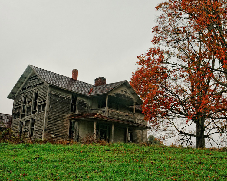 Farm House on Hwy 221, Deep Gap, View II