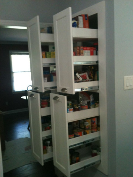 Pantry pull-outs