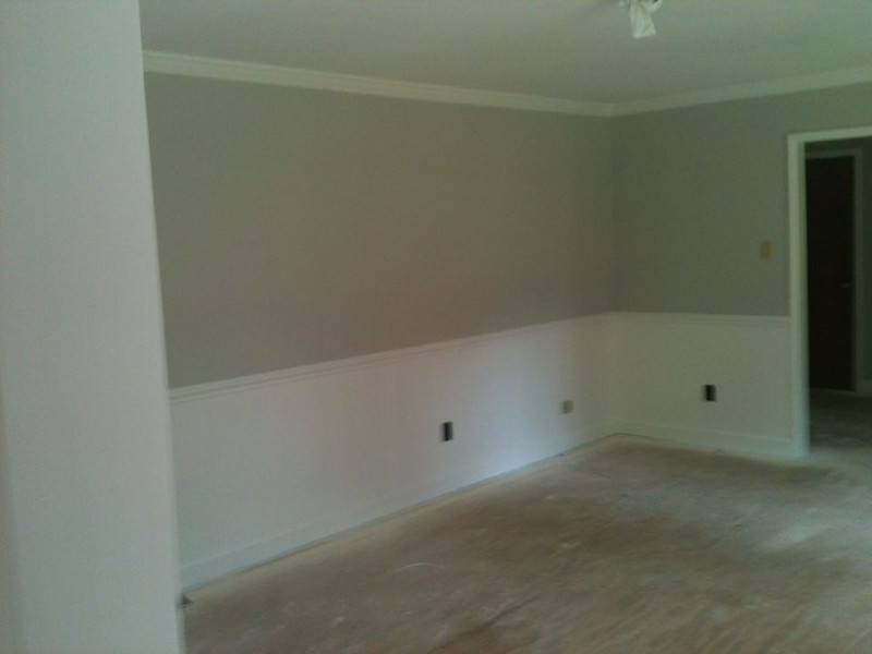 Living Room, painted