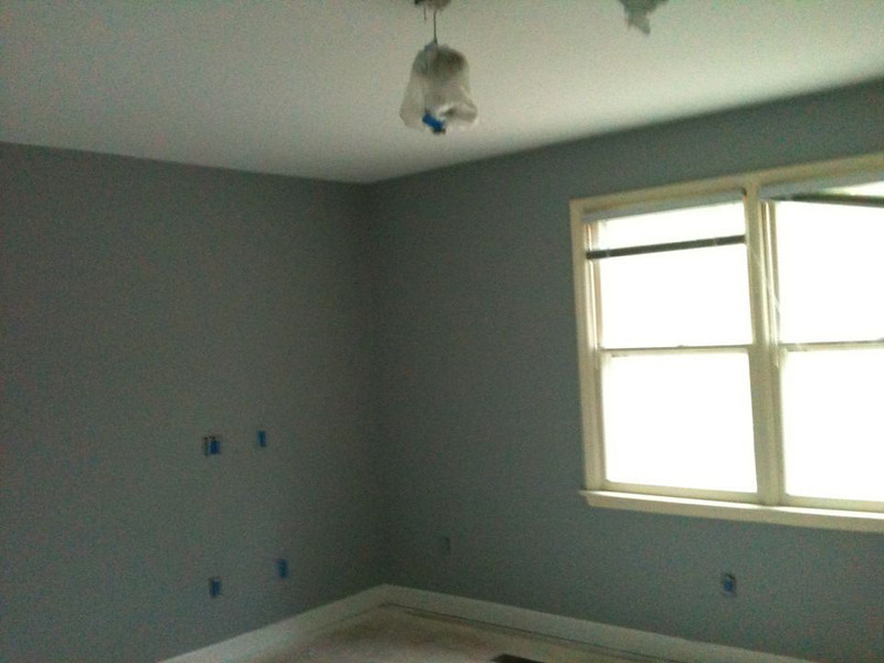 Master Bedroom, painted