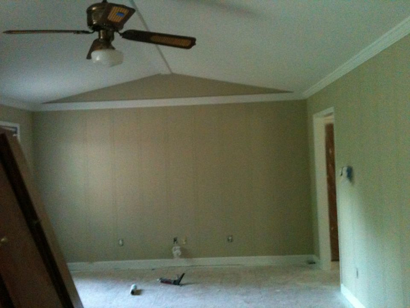 Family Room, painted