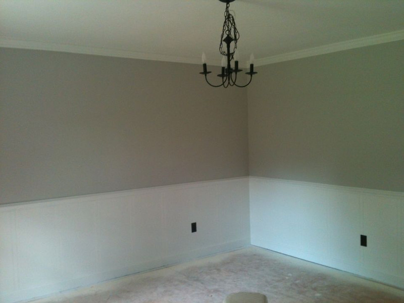 Dining Room, painted