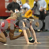 2013 NCAA Division I National Championships - 125 -<br /> Quarterfinal - Nahshon Garrett (Cornell) 43-5 won in sudden victory - 1 over Matt McDonough (Iowa) 22-5 (SV-1 4-2)