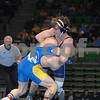 2013 NCAA Division II Championships  - 174  -<br /> 1st Place Match<br /> Eric Burgey (Notre Dame College) 21-7, RS Jr. over Blake Sorensen (Upper Iowa University) 35-12, Fr. (Maj 14-3).