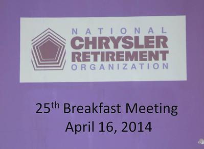 NCRO Meeting 2014 04 16
