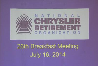 NCRO Meeting 2014 07 16