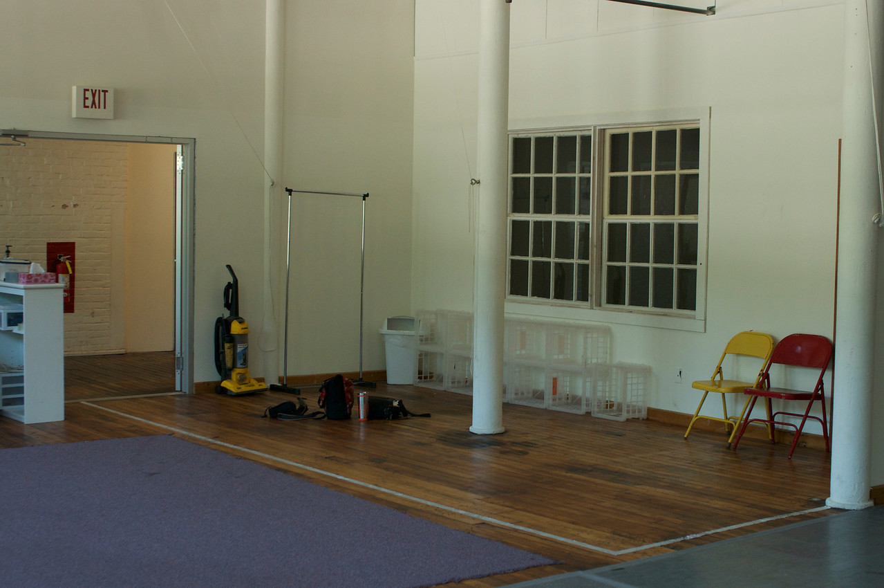 Studio Two (facing North entrance)