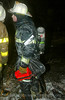 A cold night. Ice on everthing. 311 alarm, 2121 W. Washington, 2/11/03<br /> 10°, 20 mph sustained wind for 6 hours. edit