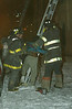 Thank God for these Guys.<br /> A cold night... 311 alarm, 2121 W. Washington, 2/11/03<br /> 10°, 20 mph sustained wind for 6 hours. edit