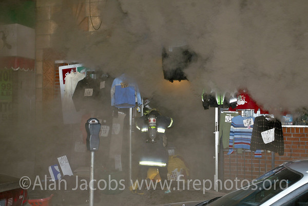 The Dollar Store Fire: 211 alarm, 11/12/02 Cermak Rd.  and 20 something.