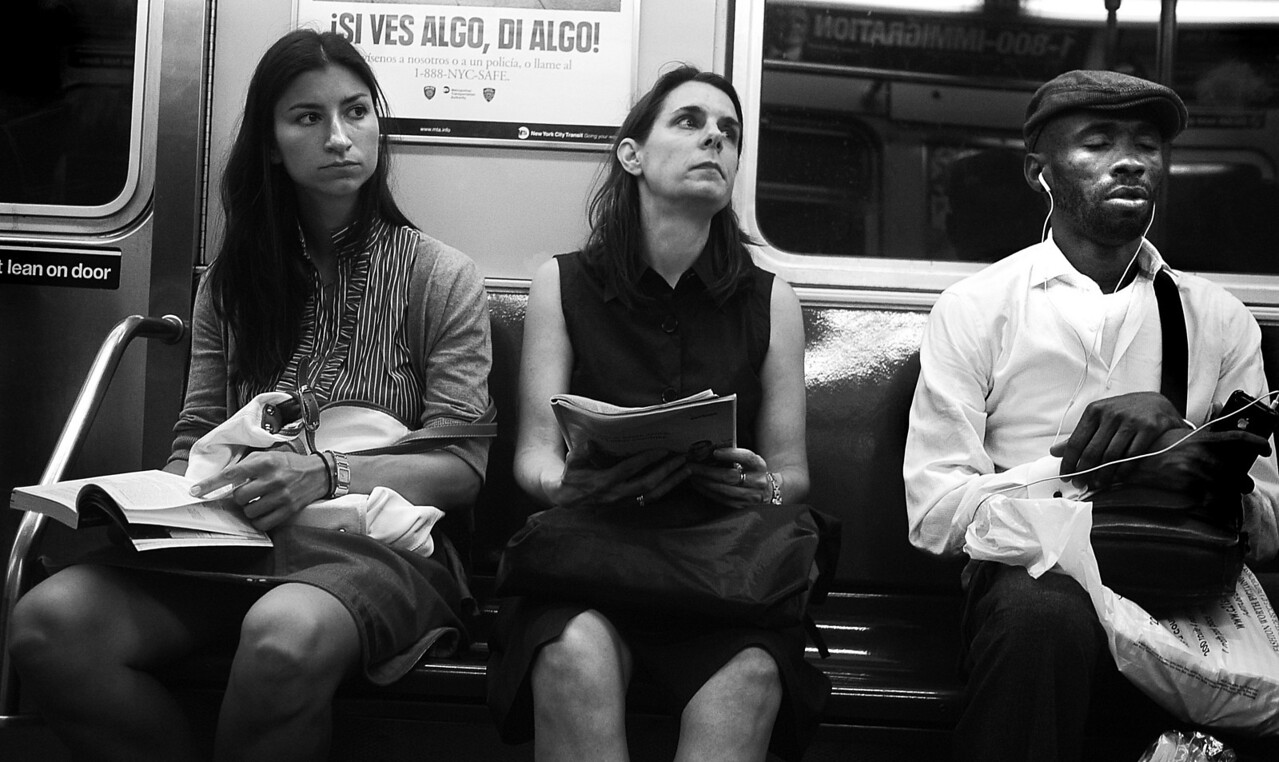 NYC SUBWAY BW