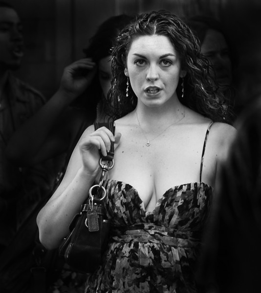 Woman, Times Square