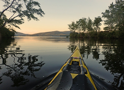 NEWFOUND LAKE August NH Skills Session & paddle
