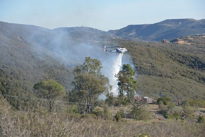 December 14, 2013 - San Marcos/Elfin Forrest Brush Fire