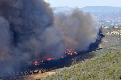 May 14, 2014 - Start of San Marcos/Cocos Fire