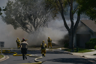 September 1, 2012 - Lake San Marcos Condo Fire