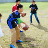 November 16 - Youth football players work on footwork during a clinic with Joe Montana in Shanghai (NFL China)