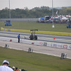 Karl Brounkowski did Burnouts to Half-track in A/Fuel Dragster!
