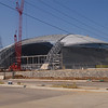 Had to Visit the New Dallas Cowboy's Stadium, opening in '09!