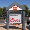 Decided to take a Quick trip to the Coors brewery