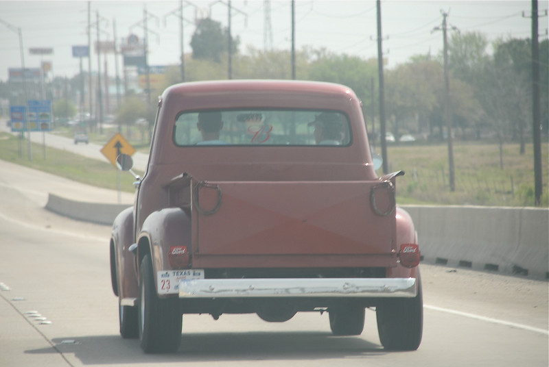 On the way to the track, saw this old Ford Truck!