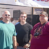 Friends Greg, Paul and Justin