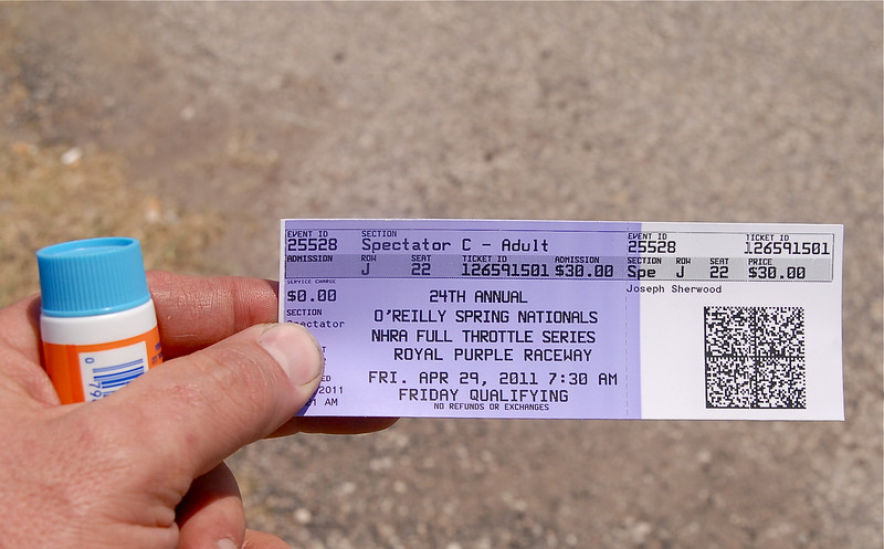 Ticket for Friday!