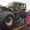 The Kids love the Monster trucks