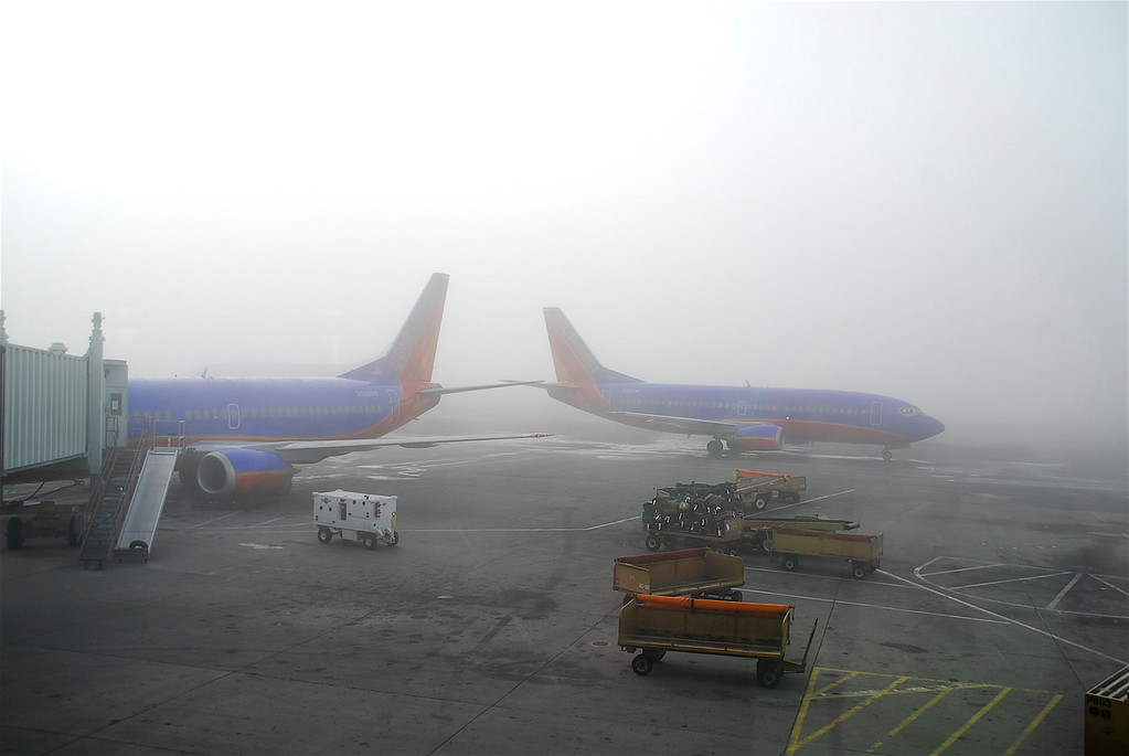 The weekend got off to a very slow start.  I got fogged in with a 3 Hr. delay on Saturday morning!