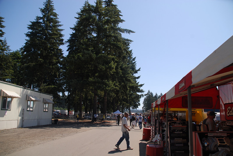 Love the rural atmosphere of Pacific Raceways