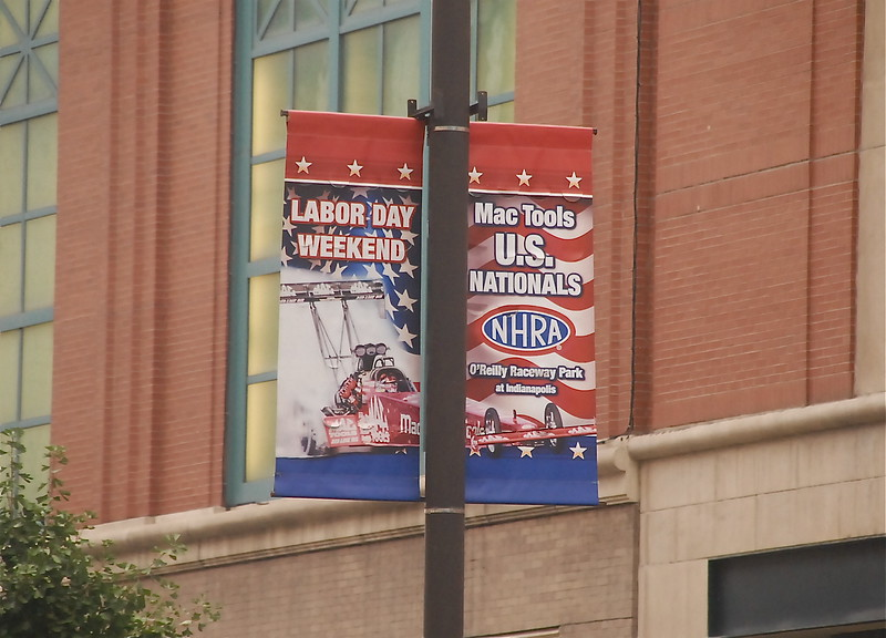 These Signs were all over Downtown Indy!!!