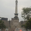 Indianapolis' famous Monument Circle